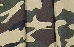 Camouflage Army Fabric